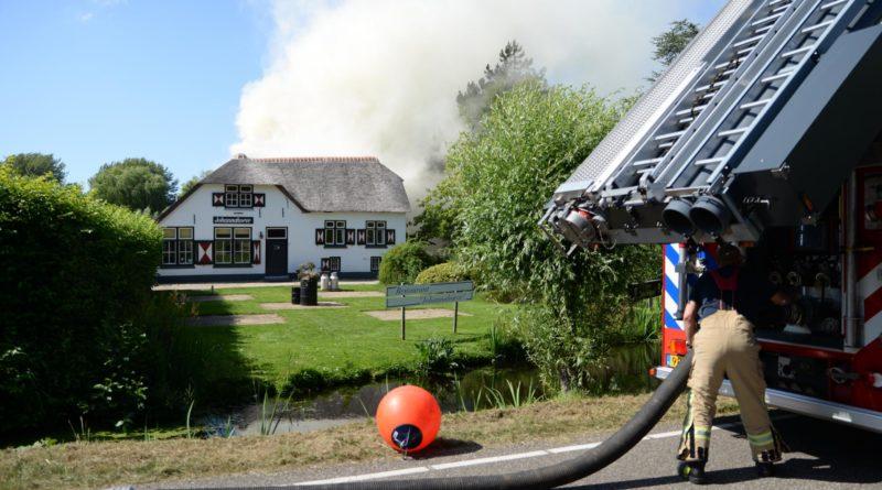 Restaurant Johannahoeve verwoest door uitslaande brand 's-Gravenweg Capelle aan den IJssel