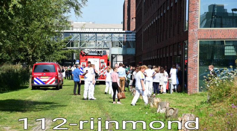 Rookontwikkeling in laboratorium Maasstadziekhuis | Maasstadweg Rotterdam