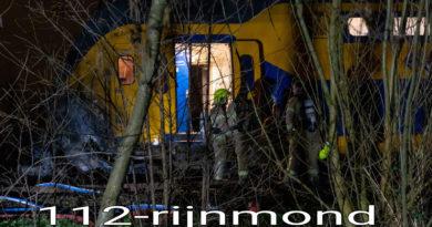Dode na ongeval met trein en auto | Kerkweg Schiedam