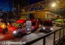 Omstanders halen persoon uit te water geraakte auto | Maashaven Zuidzijde Rotterdam