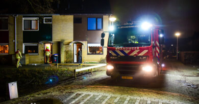 Rook in woning na keukenbrand   Riddergracht Rhoon