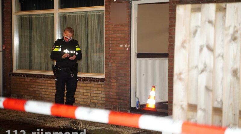 Politie doet onderzoek naar schietpartij   Constantijn Huygensstraat Capelle aan den IJssel