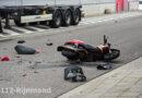Bestuurder scooter zwaargewond na aanrijding   Brielselaan Rotterdam